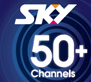SKY TV Guest Select - 50+ Channels